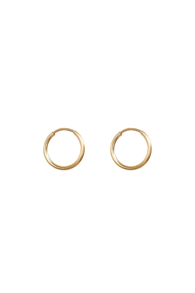 Mix & Match Small Infinite Hoops (11mm) - S-kin Studio Jewelry | Minimal Jewellery That Lasts.