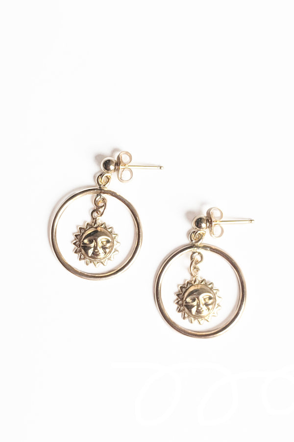 Stella Sun Earrings - S-kin Studio Jewelry | Minimal Jewellery That Lasts.