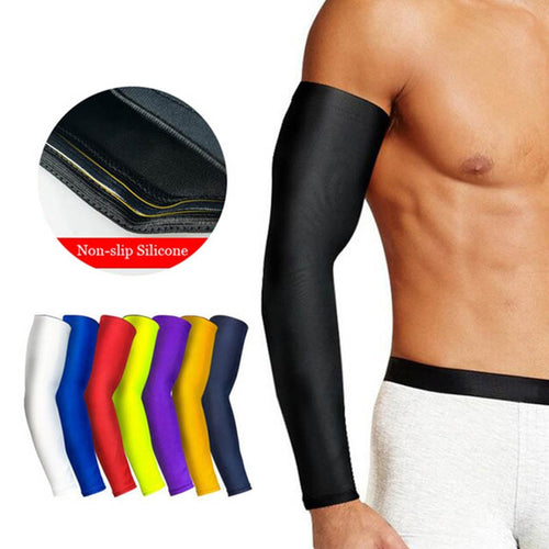 Breathable Quick Dry UV Protection Arm Sleeve For Basketball Fitness Cycling Other Sports