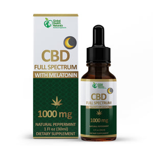 CBD FULL SPECTRUM TINCTURE with MELATONIN