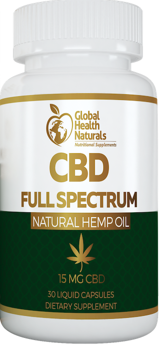 CBD FULL SPECTRUM LIQUID CAPSULES