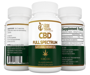 CBD Full Spectrum label