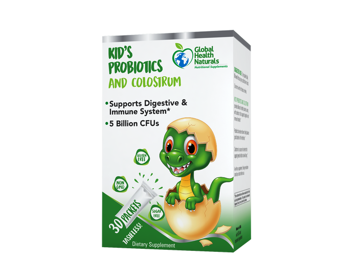 KID'S PROBIOTICS AND COLOSTRUM