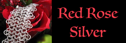 Red Rose Silver