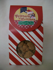 Candy cane strip gift bag