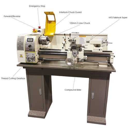 DB10 Super Lathe (includes stand)
