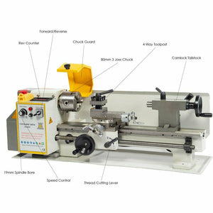 Conquest Super Lathe