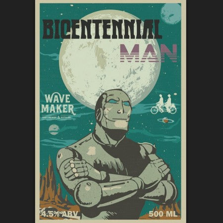 Brothers Brewing and Wave Maker Craft Brewery Release Bicentennial Man Session IPA