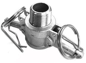 "Camlock connector, female camlock to 1/2"" male NPT"