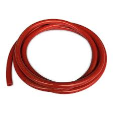 "Red vinyl tubing, CO2, 5/16"" ID x 9/16"" OD, sold per foot"