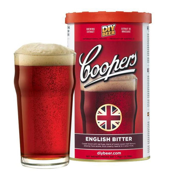 Coopers - English Bitter, extract kit, t/m 5 gal
