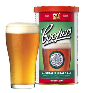 Coopers - Australian Pale Ale, extract kit, t/m 5 gal