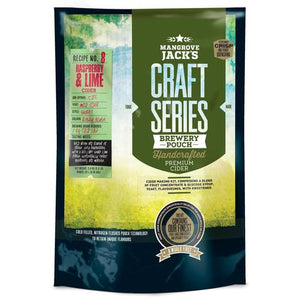 Mangrove Jack's Cider - Raspberry and Lime, extract kit, t/m 5 gal