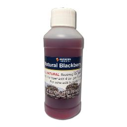 BrewersBest All Natural Fruit Flavoring - Blackberry, 4oz