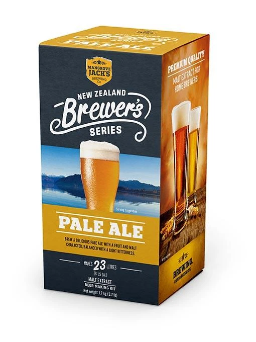 Mangrove Jack's New Zealand Brewer's Series - Pale Ale, extract kit, t/m 5 gal