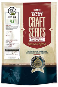 Mangrove Jack's Craft Series Brew Pouch - Pilsner + Dry Hops, extract kit, t/m 5 gal