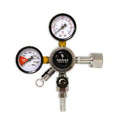 "BrewersBest Primary CO2 regulator with 5/16"" barb"