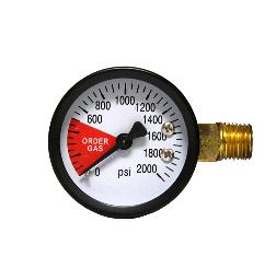 Spare CO2 High Pressure gauge, replacement