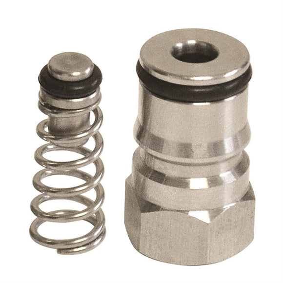 Corny Keg LIQUID ball lock post, with O-ring and poppet