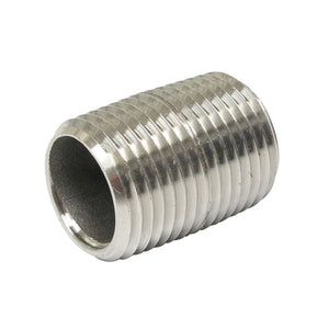 "1/2"" NPT SS nipple, 1.0"" long"