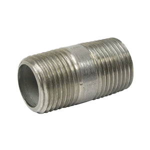 "1/2"" NPT SS nipple, 1.5"" long"