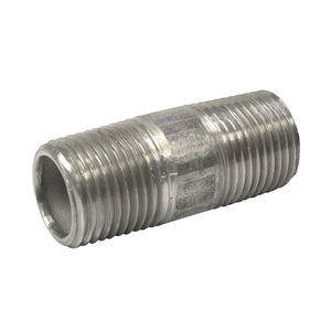 "1/2"" NPT SS nipple, 2.0"" long"