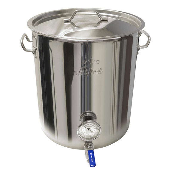 8 Gallon Heavy Duty Stainless Steel Kettle