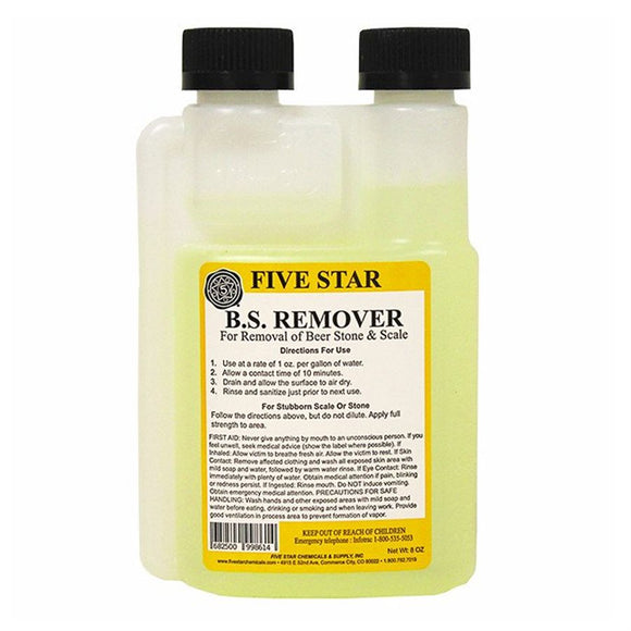 Five Star Beer Stone remover, 8 oz