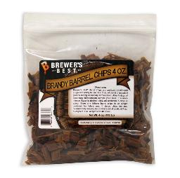 BrewersBest Brandy Barrel Chips, 4oz