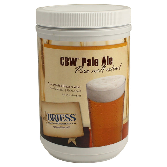 Briess CBW Pale Ale Liquid Malt Extract (LME) (3.3 lb)