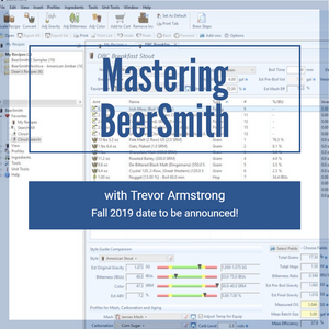 Mastering BeerSmith