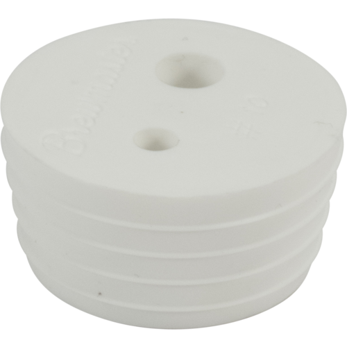 2-Hole #10 Drilled stopper