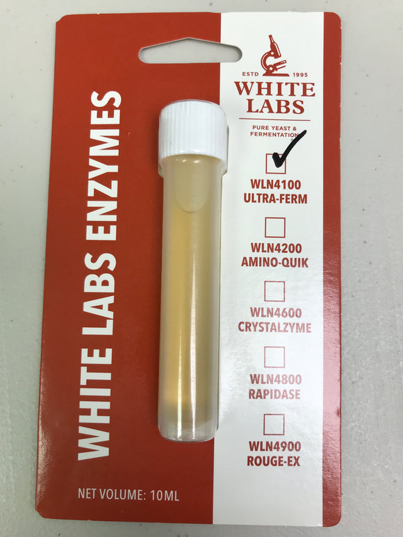 White Labs Ultra-Ferm (amyloglucosidase), 10ml
