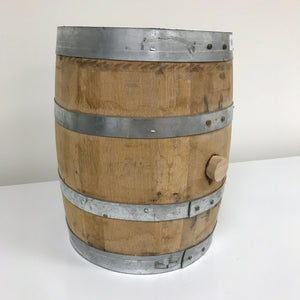 RARE 5 gallon Rye barrel, used