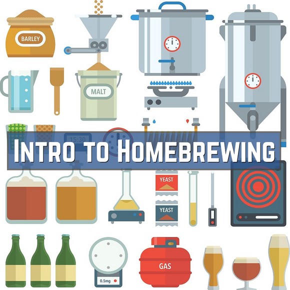 Intro to Homebrewing - 1.5 hour class