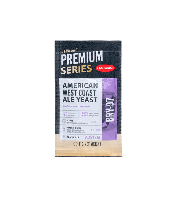 Lalbrew PREMIUM SERIES BRY-97 West Coast Ale yeast, 11g Sachet
