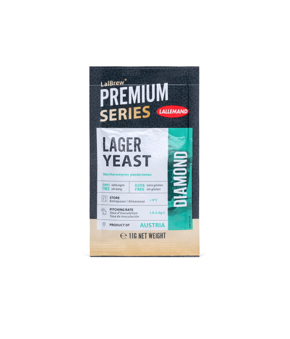 LalBrew PREMIUM SERIES Diamond Lager yeast, 11g sachet