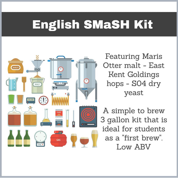 SMaSH kits - 3 gallons