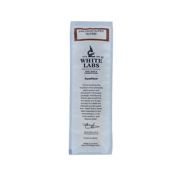 White Labs WLP090 San Diego Super yeast