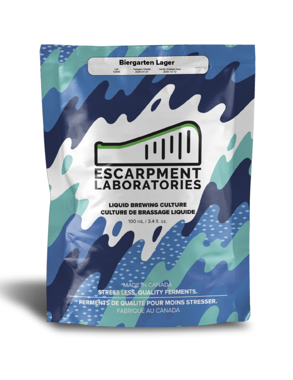 Escarpment Labs Biergarten Lager yeast - CORE