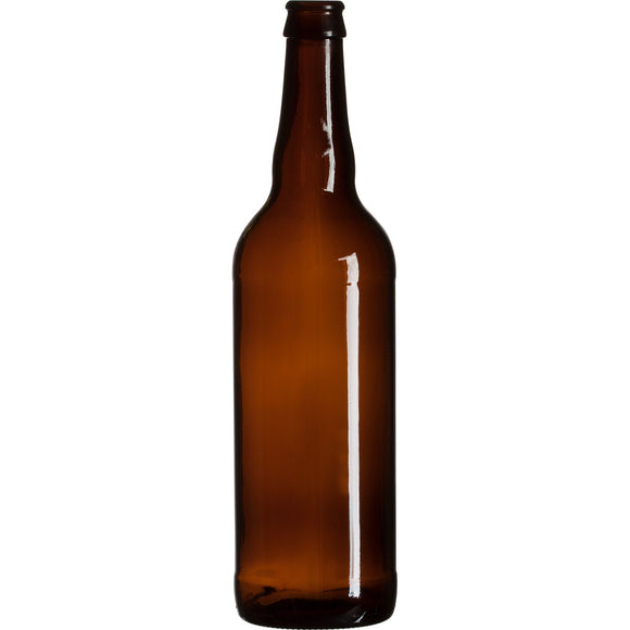 Bomber 650ml Amber bottles