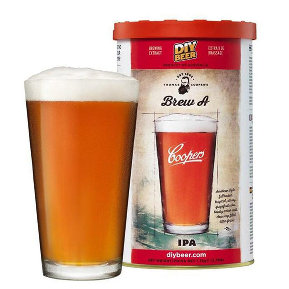 Coopers - India Pale Ale, extract kit, t/m 5 gal