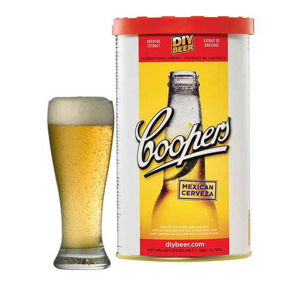 Coopers - Mexican Cerveza, extract kit, t/m 5 gal