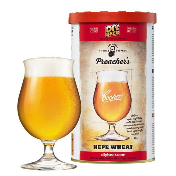 Coopers - Wheat Beer, extract kit, t/m 5 gal