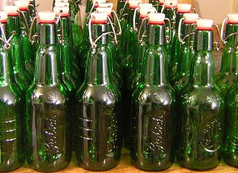 USED Grolsch Flip Top bottles