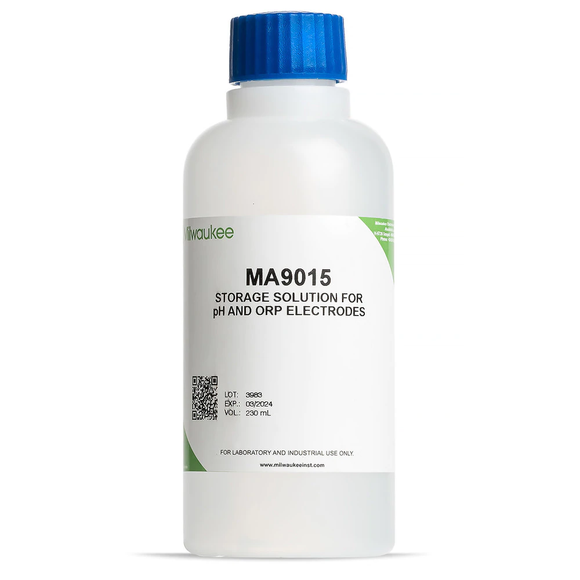 Milwaukee MA9015 Storage Solution for pH / ORP Electrodes - 230 ml