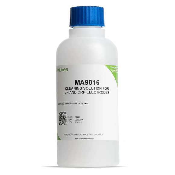 Milwaukee MA9016 Cleaning Solution for pH / ORP Electrodes - 230 ml