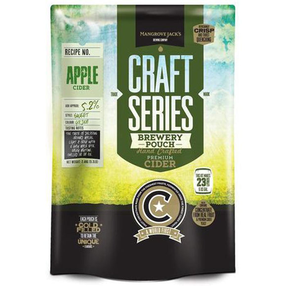 Mangrove Jack's Cider - Apple, extract kit, t/m 5 gal