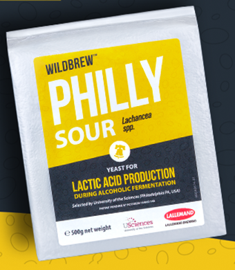 Lallemand WildBrew Philly Sour yeast, 11g