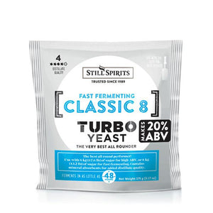 Still Spirits Turbo Classic 8 yeast
